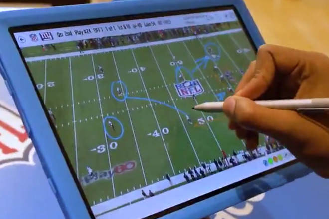 Still from Microsoft's Super Bowl LIII laptop ad