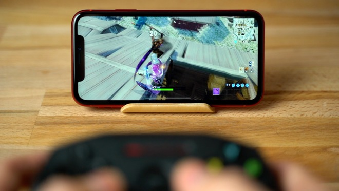 Even the iPhone XR can play Fortnite