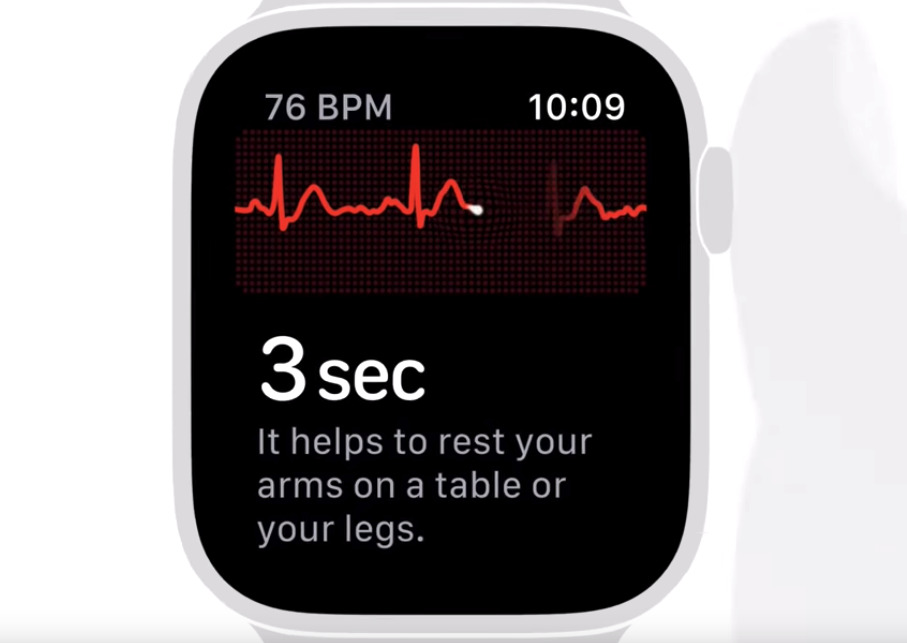 Apple's 'How to take an ECG' video teaches how to use the feature on an Apple Watch Series 4