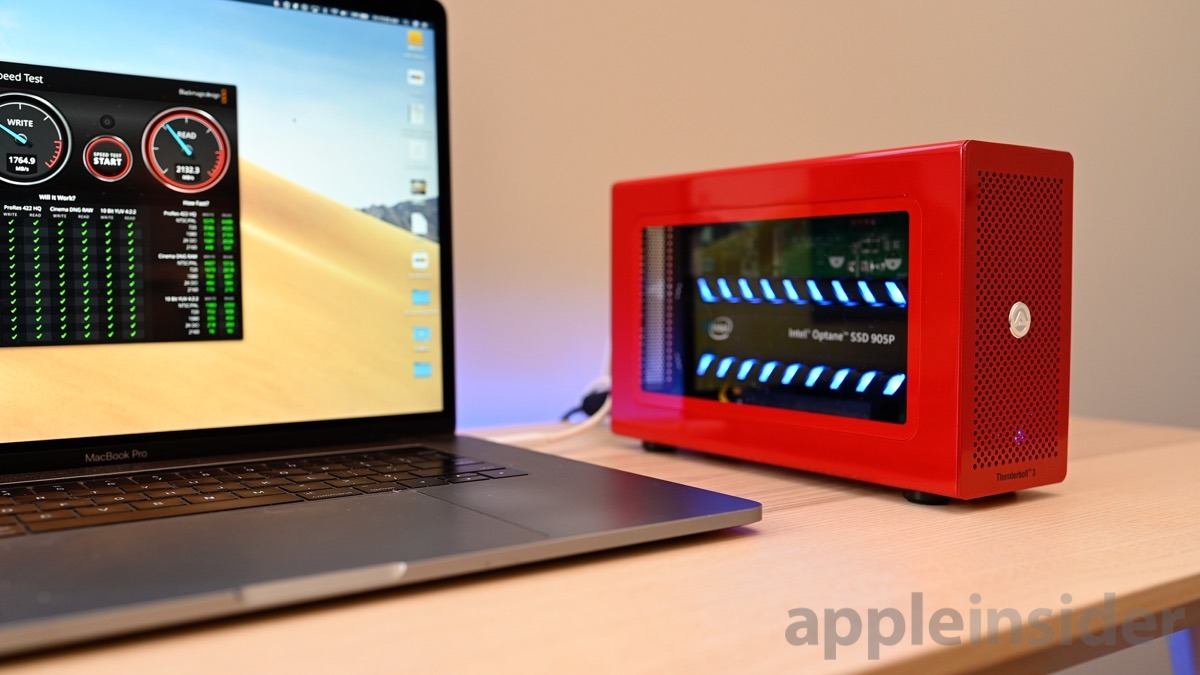 Akitio Node Lite & Intel Optane 905P SSD