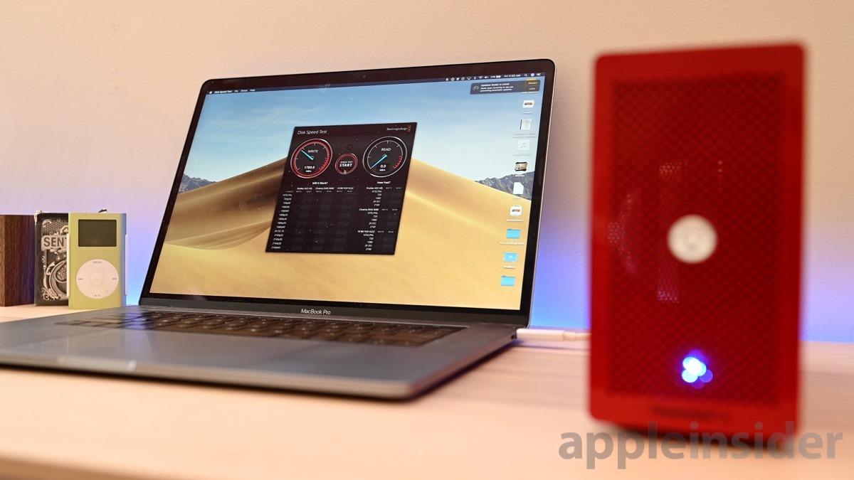 Akitio Node Lite & Intel Optane 905P SSD speed test