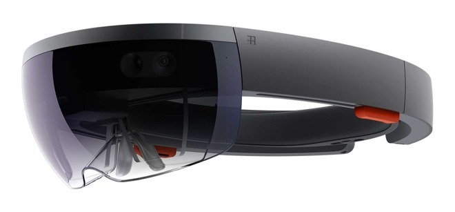 Microsoft's Hololens, an AR device that Avi Bar-Zeev is credited in producing