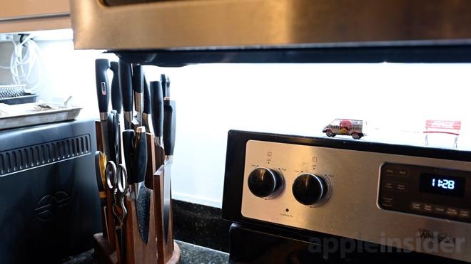 Eve Light Strip under kitchen cabinets