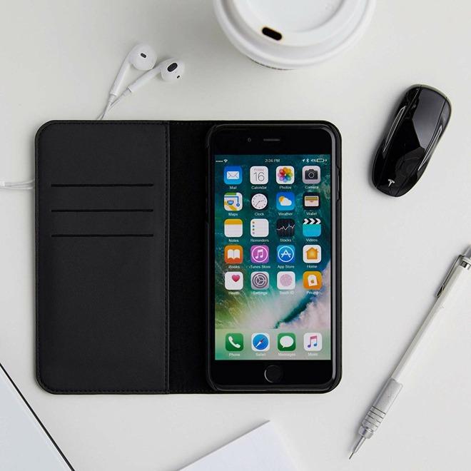 Tesla iPhone folio case