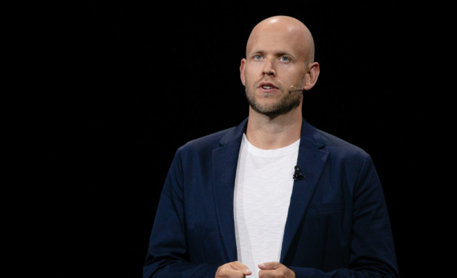 Spotify founder and CEO Daniel Ek