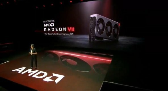 AMD's press launch of the Radeon VII in January