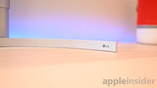 LG UltraWide 5K metal stand
