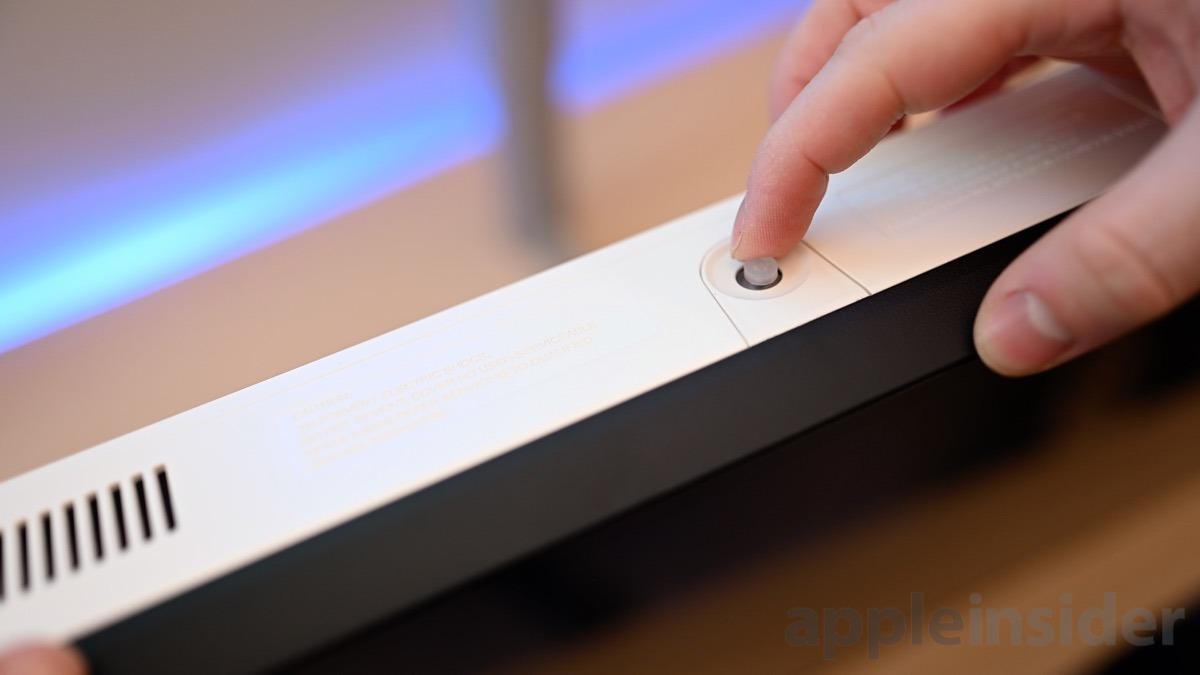 LG UltraWide 5K controls