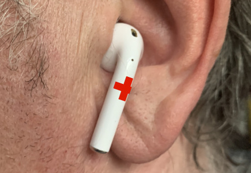 They won't look like this but AirPods 2 are expected to have many health monitoring features
