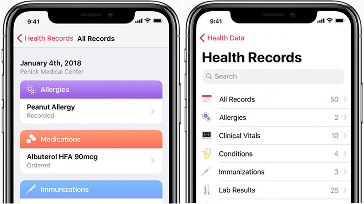 photo of Apple will provide Health Records feature to veterans in conjunction with VA image