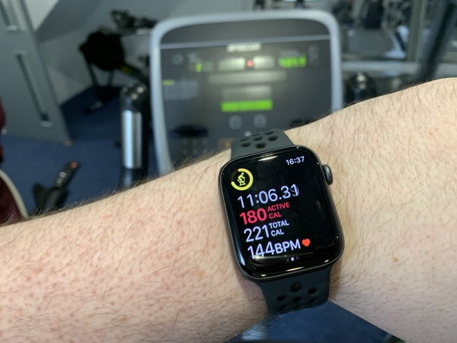 The Apple Watch is a great tool for keeping track of your calorie burn and your workout heartrate