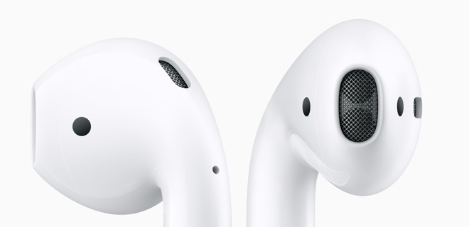 Apple's current AirPods design