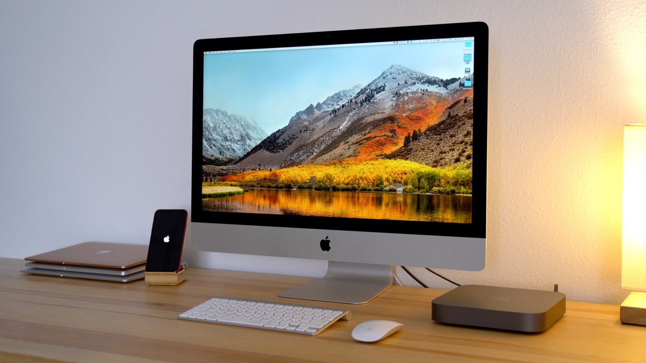 The iMac's 5K screen is large and extremely useful