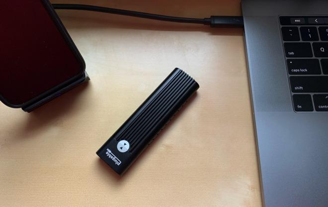 Plugable's new USB-C NVMe drive enclosure