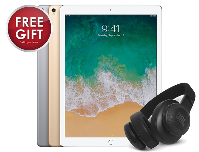 Free JBL headphones with Apple iPad Pro