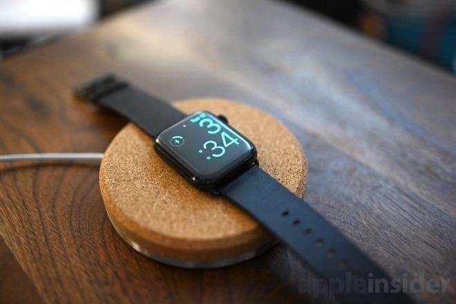 Grovemade Apple Watch charging dock