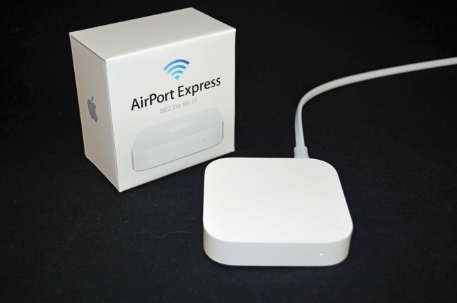 Apple's old AirPort Express, now discontinued