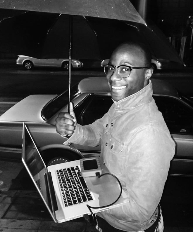 Barry Jenkins in the Behind the Mac campaign