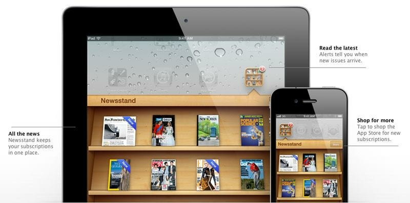 Apple's old Newsstand app. You never looked at it.