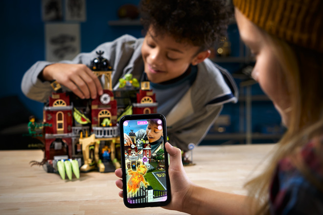 Lego returning to ARKit 2 with 'Hidden Side' haunted
