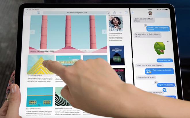 The 2018 iPad Pro.
