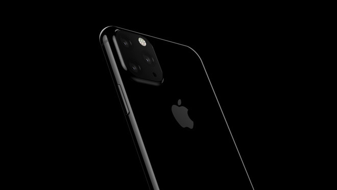 Render of what the 2019 iPhone could look like with a triple rear camera