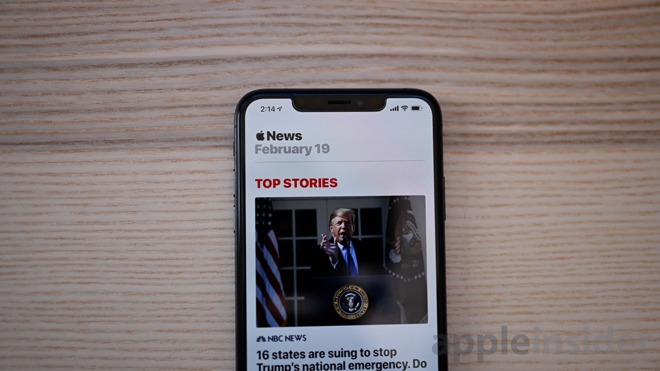 iOS 12.2 beta 3 News app
