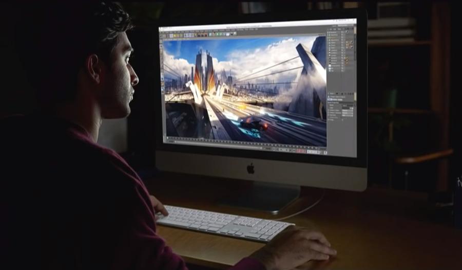 Using the iMac (Source: Apple)