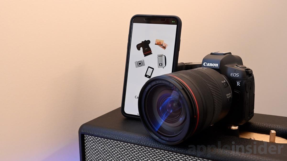 Canon EOS R iOS app