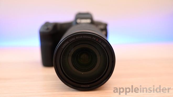 Canon EOS R lens