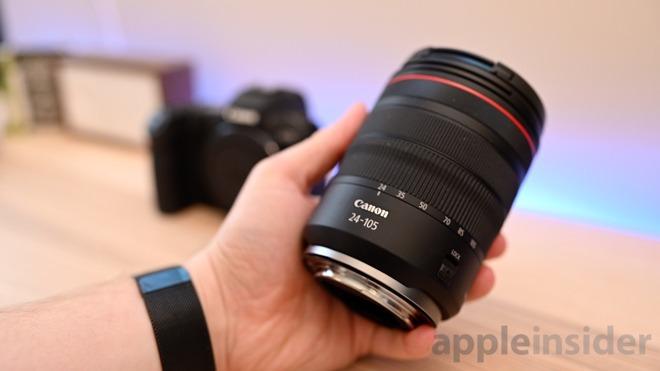 Canon EOS R 24-105mm lens