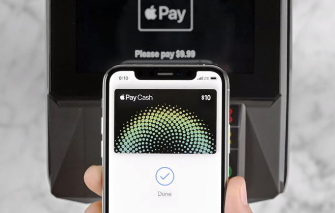 Apple Pay Cash, launched in January, is Apple's peer-to-peer payments service