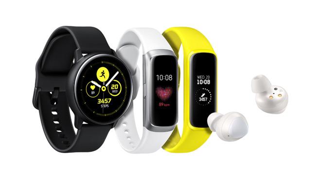 Samsung Galaxy Watch, Galaxy Fit and Galaxy Buds