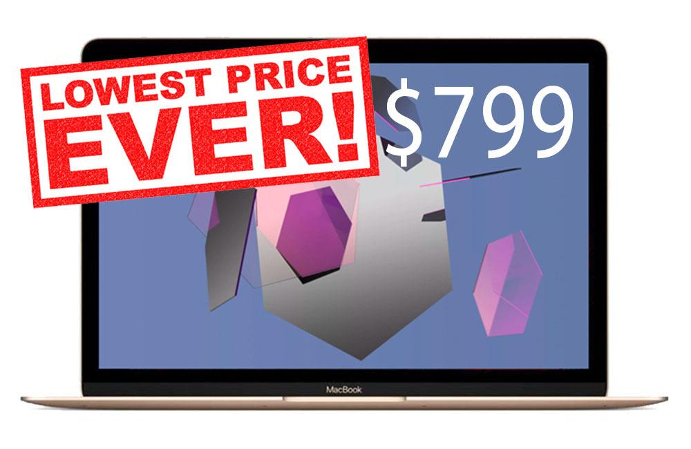 Apple 12 inch MacBook 799