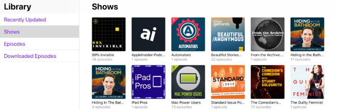 Apple revealed that there are 650,000 active podcast