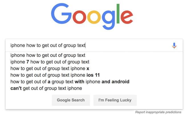 Google query