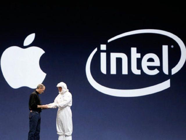 Apple quitte Intel