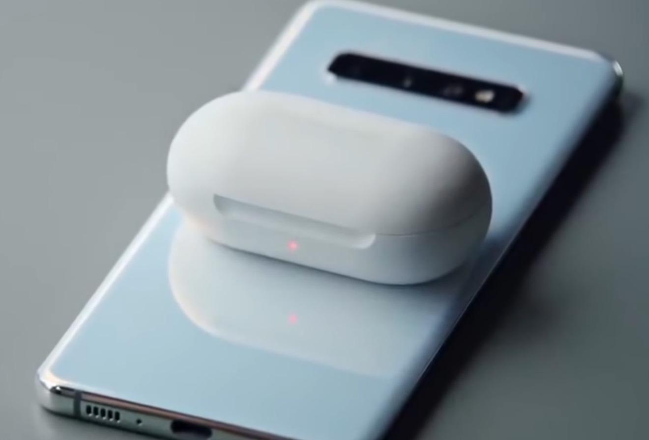 Galaxy Buds wireless charging