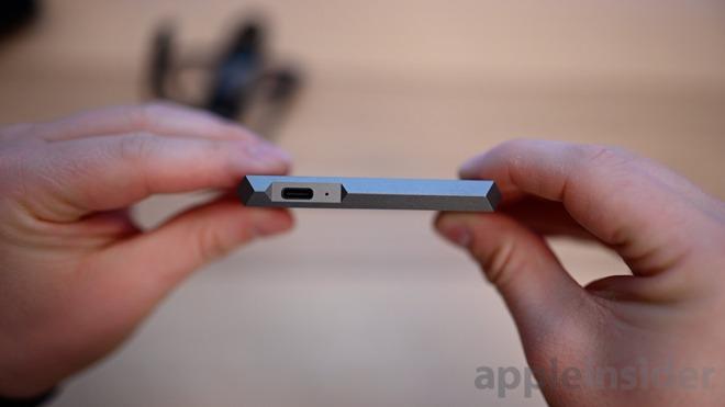 LaCie Mobile SSD USB-C port
