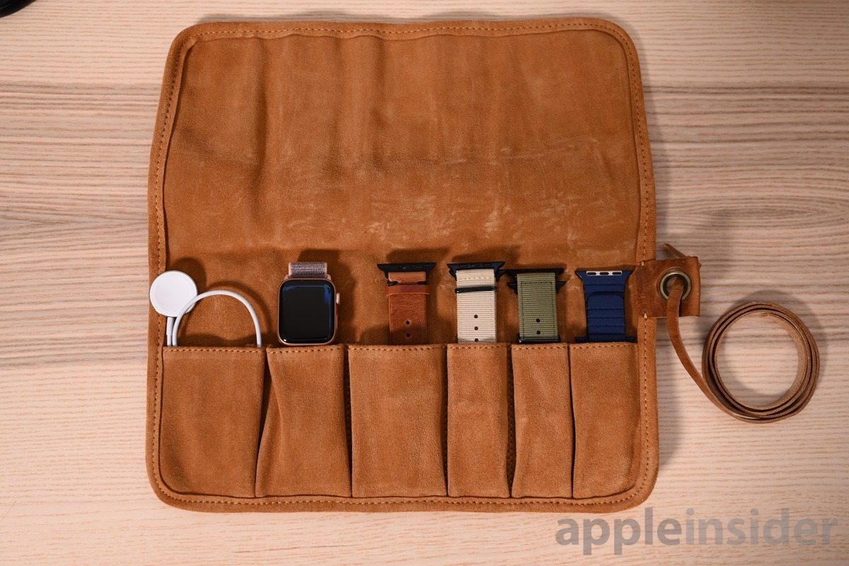 Southern Straps Apple Watch roll with Southern Strap bands
