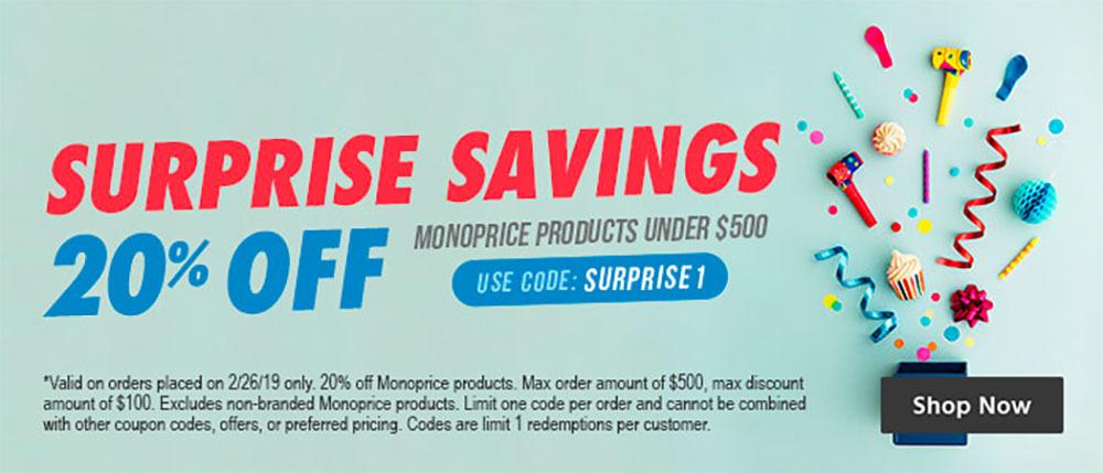 Monoprice coupon