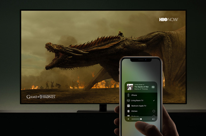 HBO Game of Thrones AirPlay 2