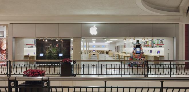 The Apple Store in Tyson's Corner