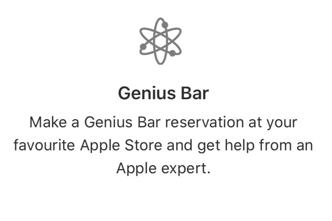 cancel apple genius bar appointment
