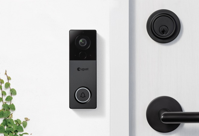 August expands lineup with new August View doorbell cam on