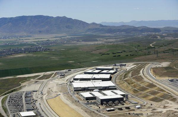 An NSA data center in Utah.