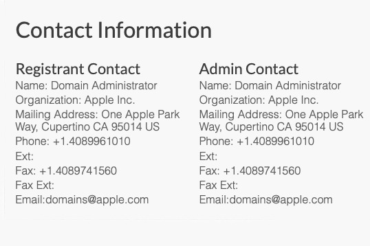 Apple registers new PrivacyIsImportant domain name, no website yet