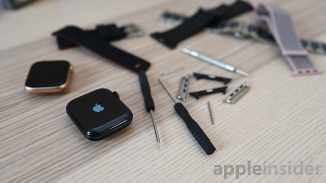 Apple Watch band parts