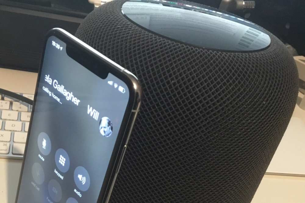 How to make and receive phone calls on HomePod