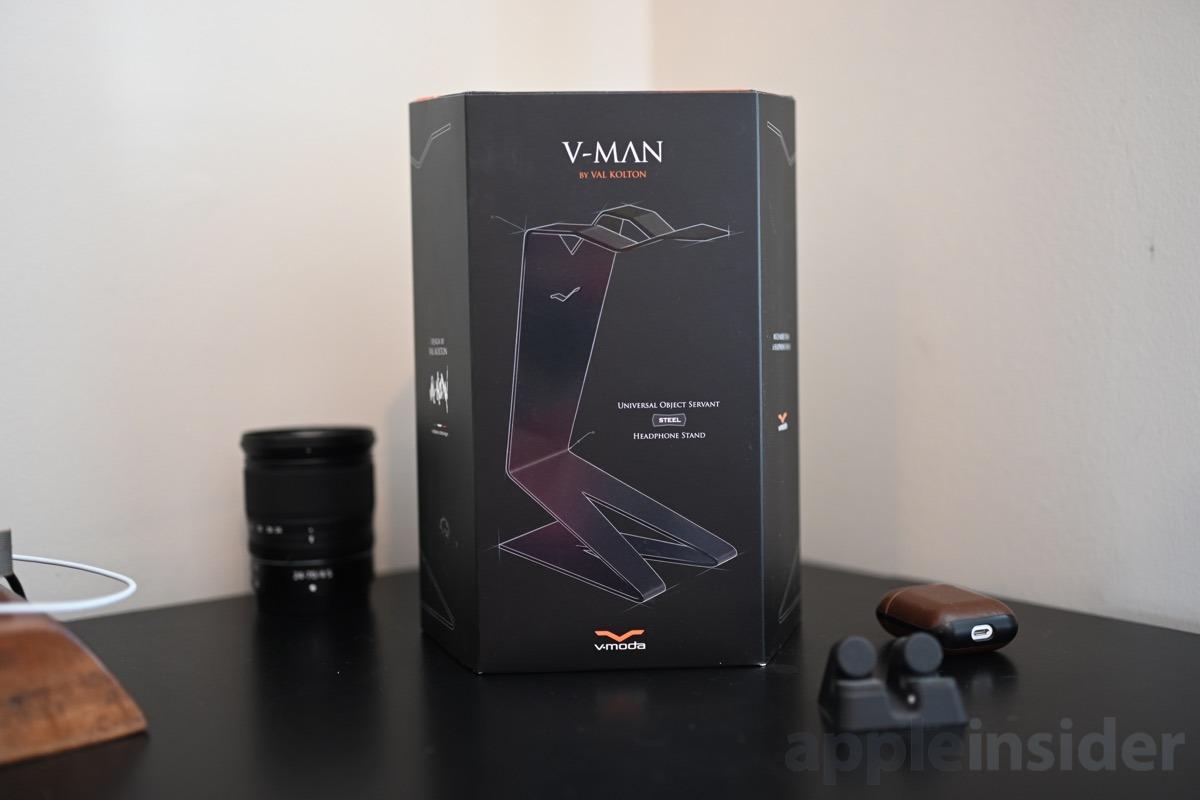 V-Man universal object servant and headphone stand box